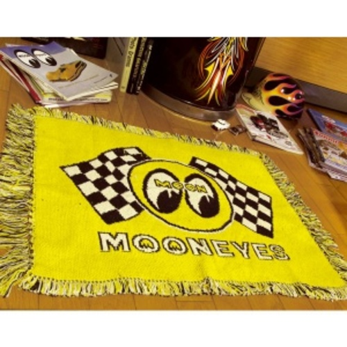 Checker MOON RUG MAT [ MG624YE ]