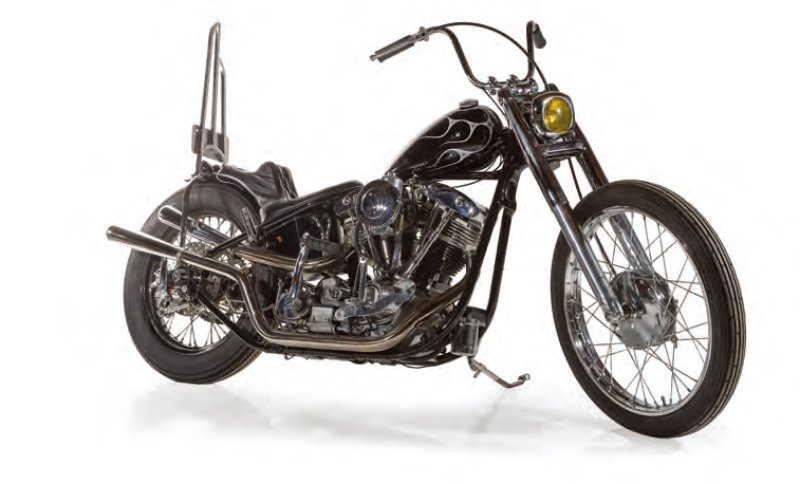 HARLEY-DAVIDSON : SHOVEL HEAD