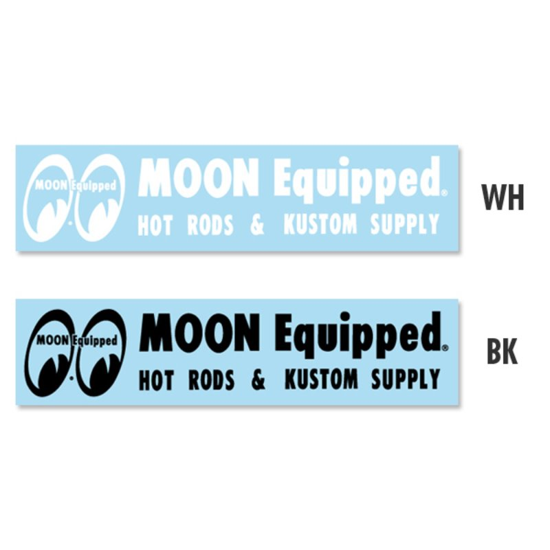 MOON Equipped Logo Sticker [MQD034]