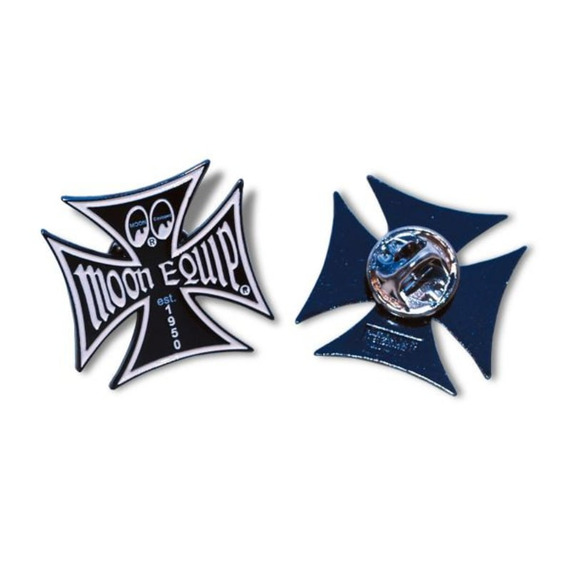 MOON Equipped Iron Cross Pin [HM018]