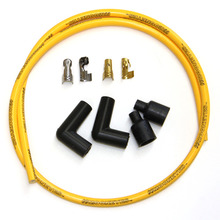 MOONEYES YELLOW Silicon Spark Plug Wire set for H-D [MPTA202YE] (400g)