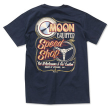 MOON Equipped Speed Shop T-shirt [ MQT136BK ]