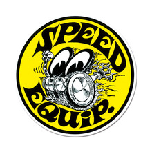 Speed Equip Round Sticker [ DM206 ]