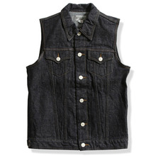 DEAN VEST DENIM (14.75OZ)