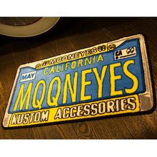 MOONEYES Floor Mats License Frame [ MG458LF ]
