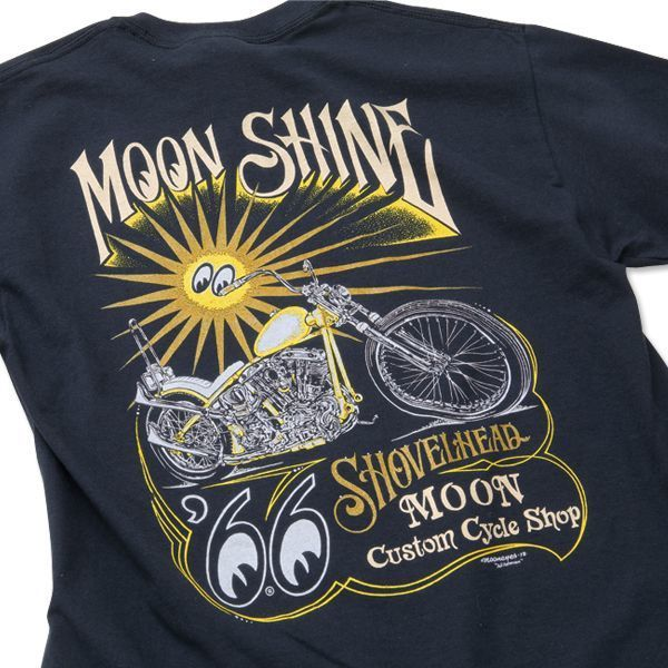 MCCS MOON Shine T-shirt [ TM734BK ]