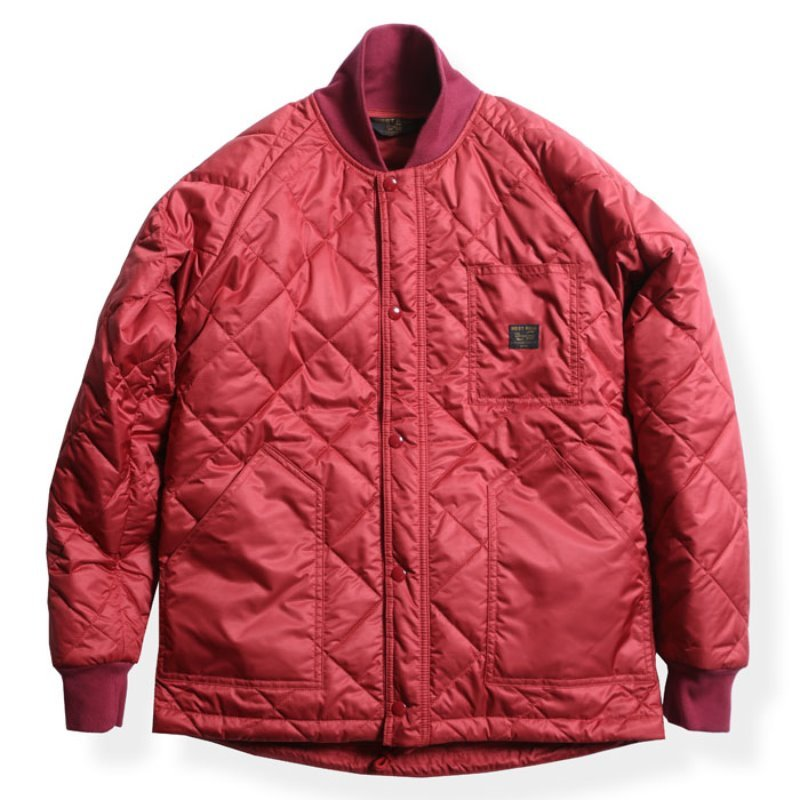 CYCLE QUILT JACKET (RED)