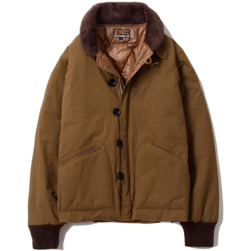 DECK DOWN JACKET (KHAKI)