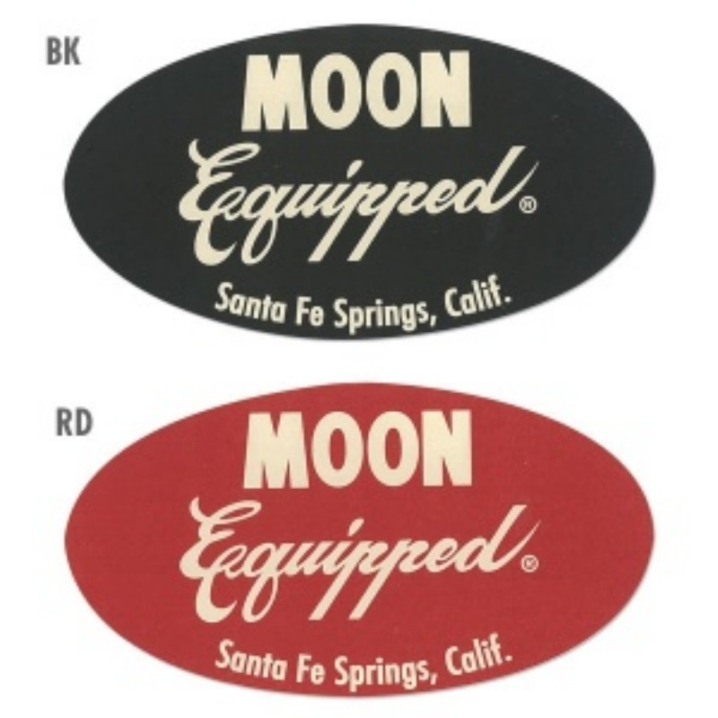 MOON Equipped Oval Sticker [MQD019]