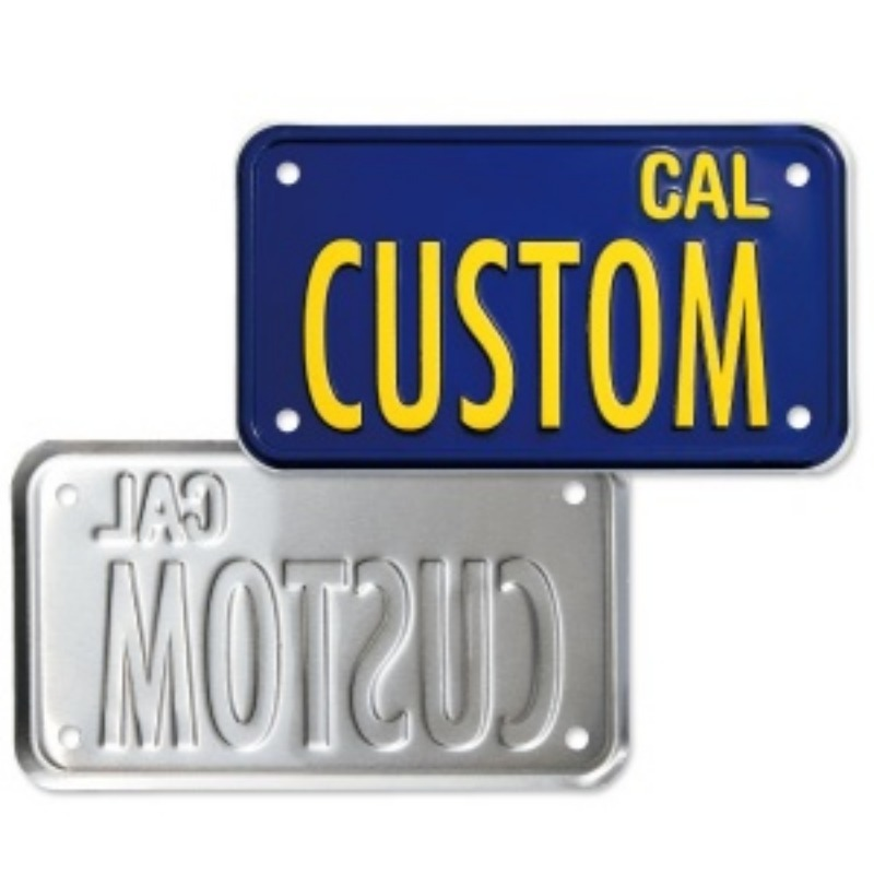 California Motorcycle License Plate [MG081MC]