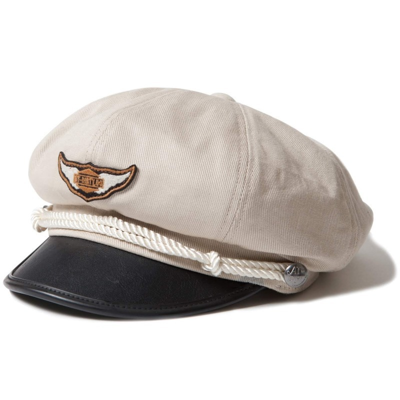 AT-DIRTY/M.C CAP - IVORY
