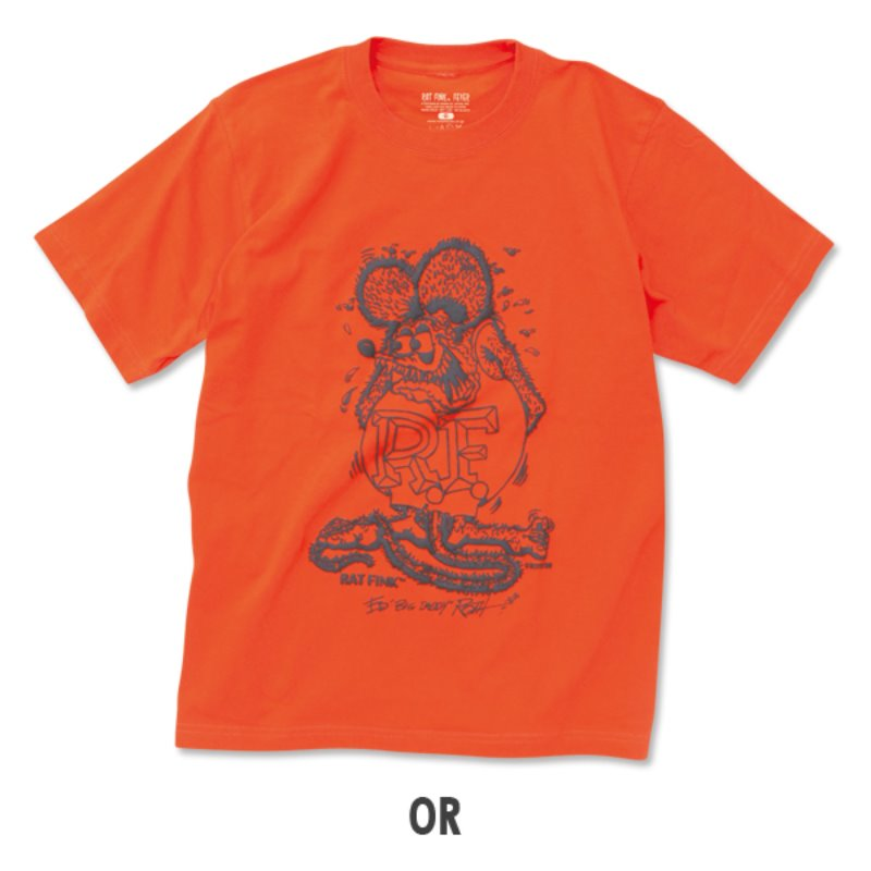 Rat Fink Foaming Color T-shirt [RITKF083]