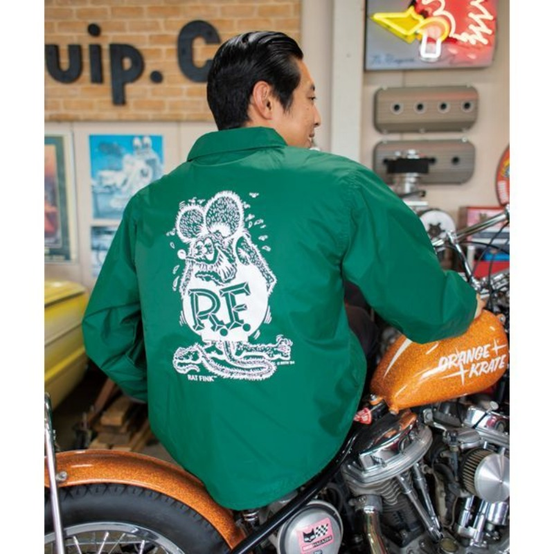 Rat Fink Coach Jacket [RIWF014]