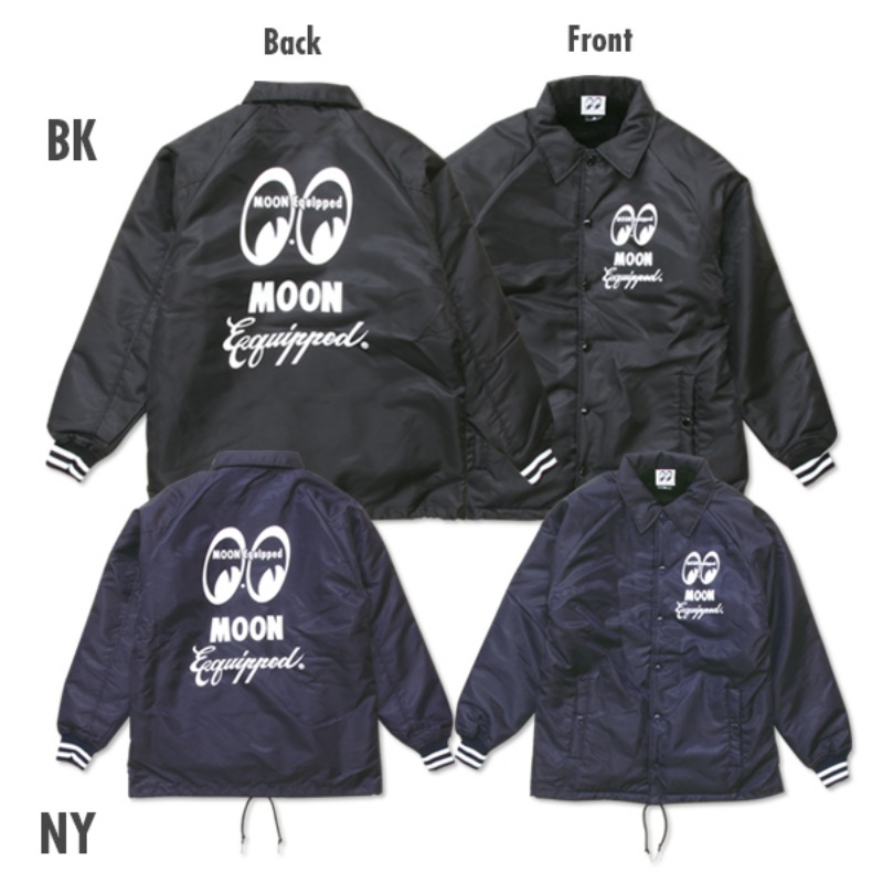 MOON Equipped Logo Boa Coach Jacket [MQW037]