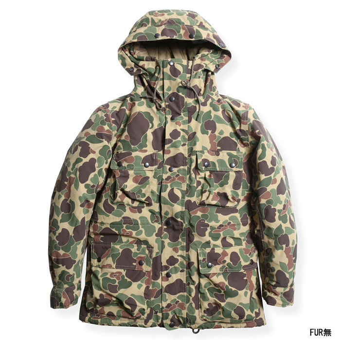 CLASSIC MOUNTIN RIDERS JACKET (H.CAMO)