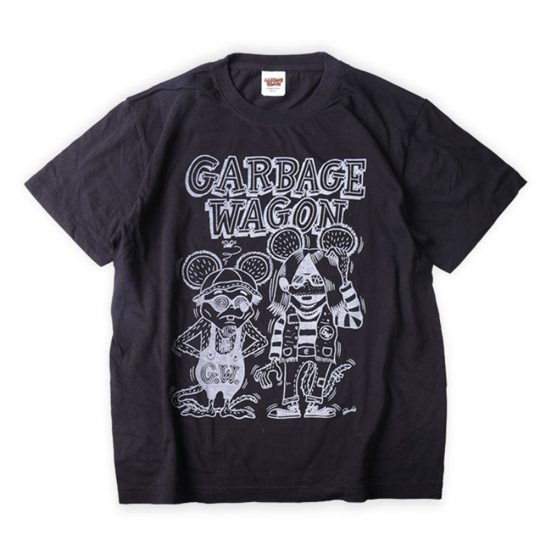 GARBAGEWAGON : T-shirt : Kuckle Design)