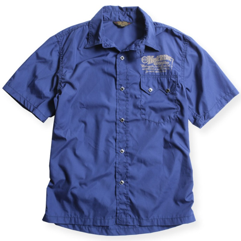 SNAP WORK SHIRTS / NVY