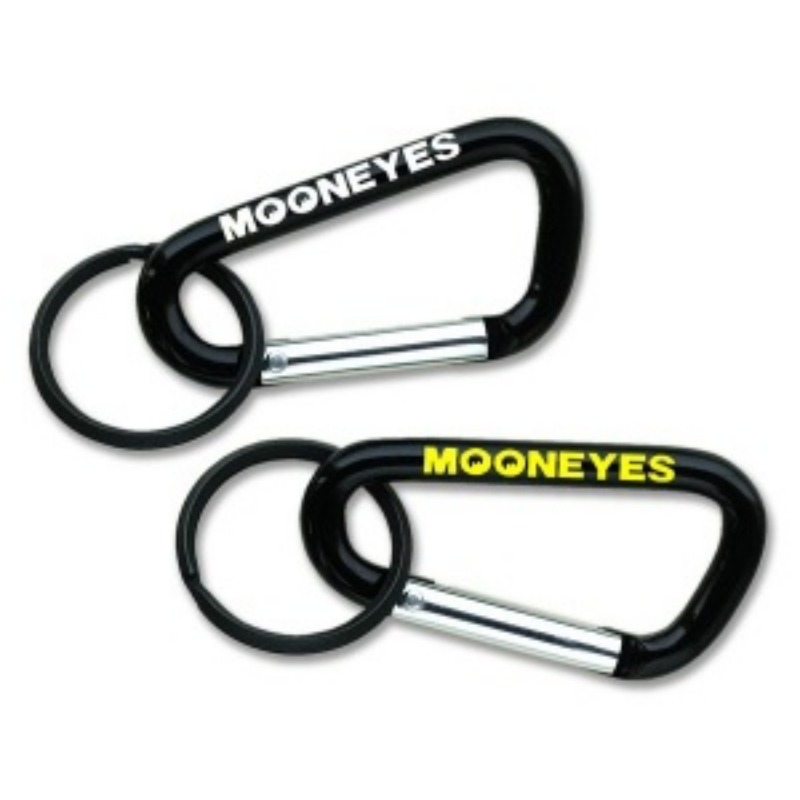 MOONEYES Big Carabiner Key Ring Medium [MKR065]