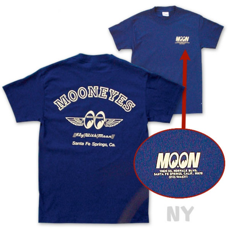 Fly with MOON T-Shirt [TM006]