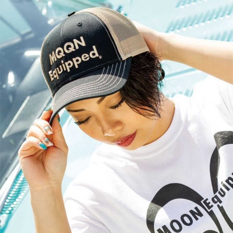 MOON Equipped Twill Cap [MQC036]