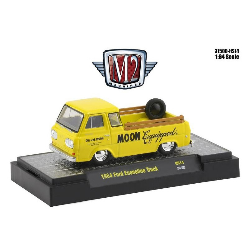 M2 Machines 1/64 Die Cast Model MOON Equipped 1964 Ford Econoline Truck [M264M31500-HS14]