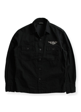 BUY BACK JACKET [ BLK / DENIM ]